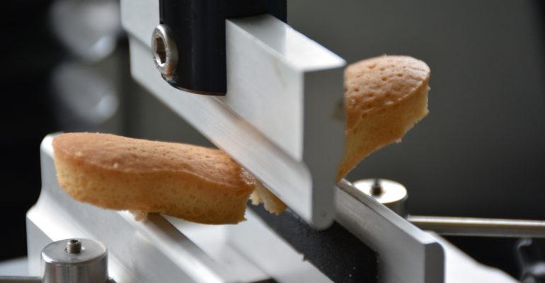 Test de résistance d'un biscuit