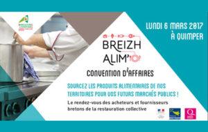 Convention d'affaire Breizh Alim le 6 mars 2017 à Quimper